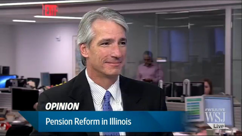 wall street journal live john tillman illinois pension crisis